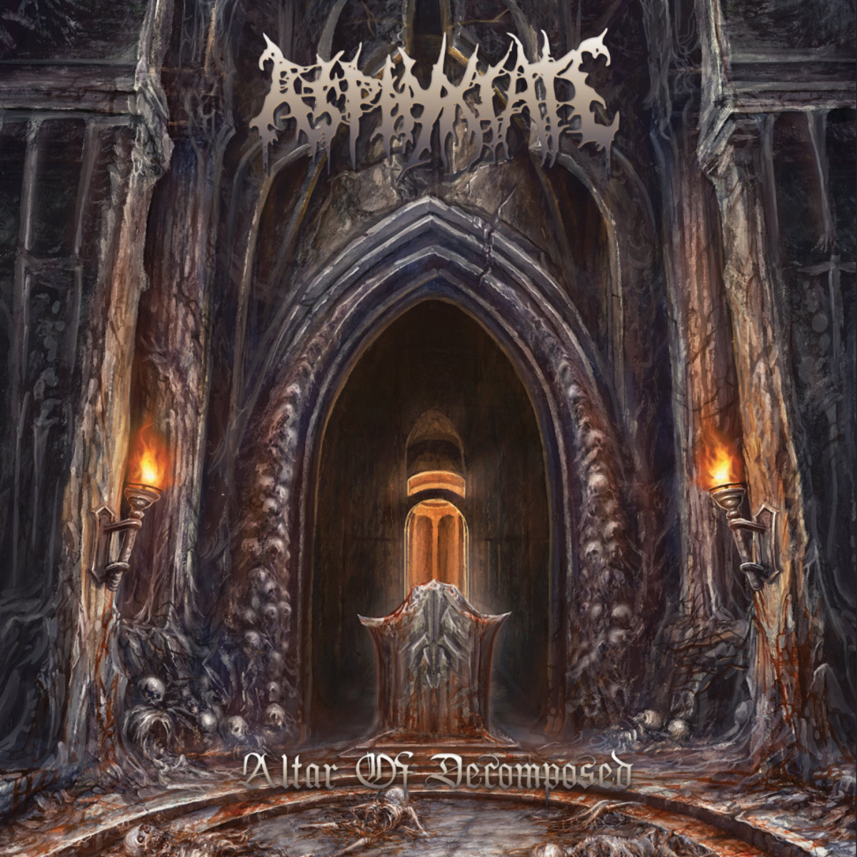 Asphyxiate - Altar of Decomposed (2021) [FLAC] Download