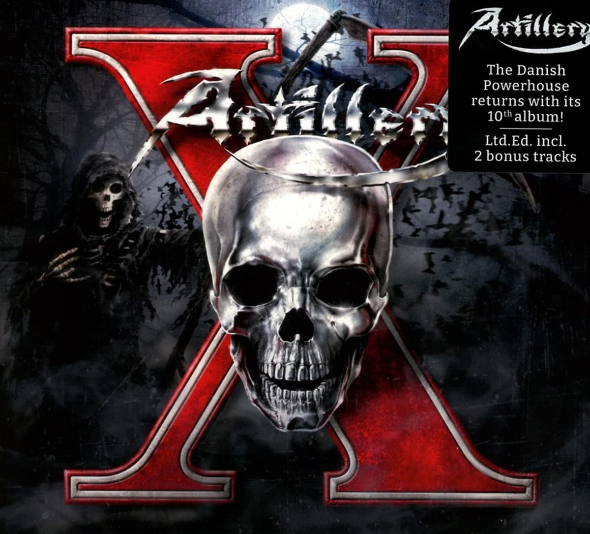 Artillery – X (2021) [FLAC]