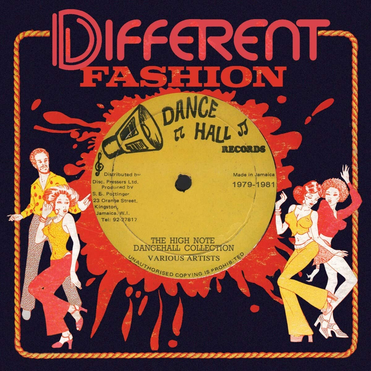 VA - Different Fashion The High Note DanceHall Collection (2021) [FLAC] Download