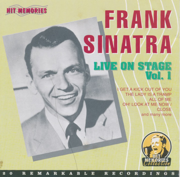 Frank Sinatra - Live On Stage Vol.1 (2003) [FLAC] Download