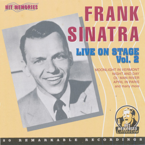 Frank Sinatra - Live On Stage Vol.2 (2003) [FLAC] Download