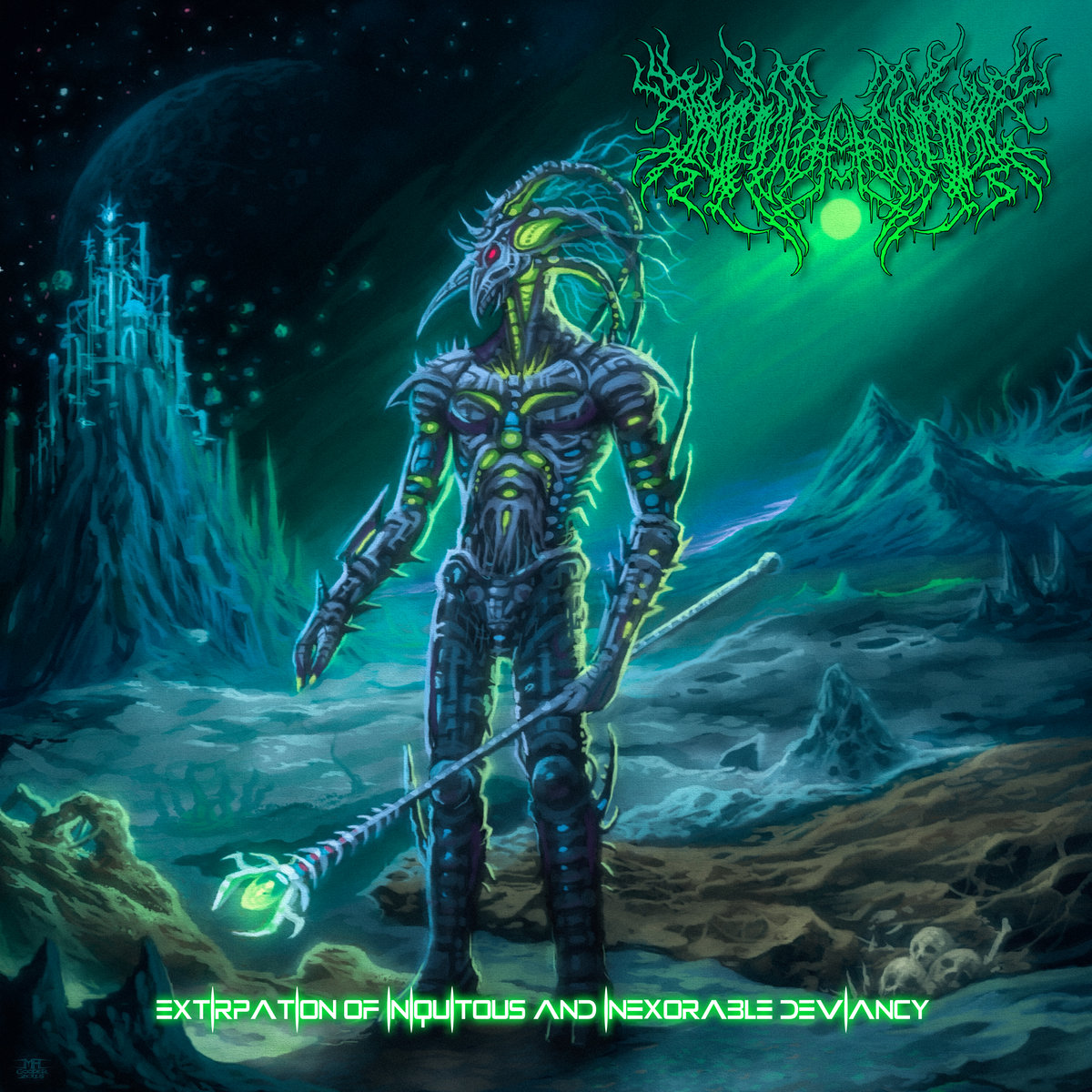 Insidious Asphyxiation - Extirpation of Iniquitous and Inexorable Deviancy (2021) [FLAC] Download
