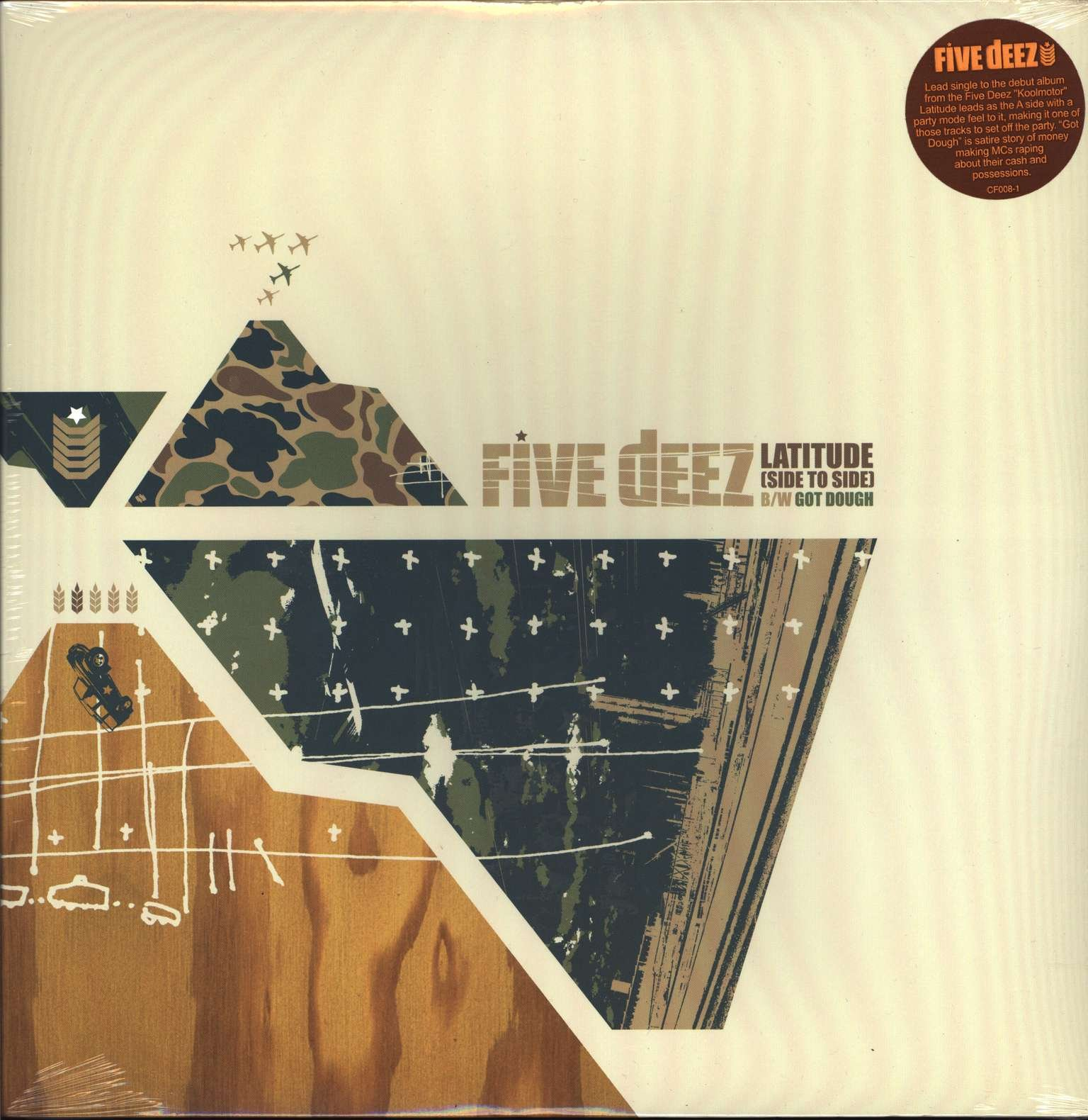 Five Deez - Latitude (Side To Side) B/W Got Dough (2001) [FLAC] Download