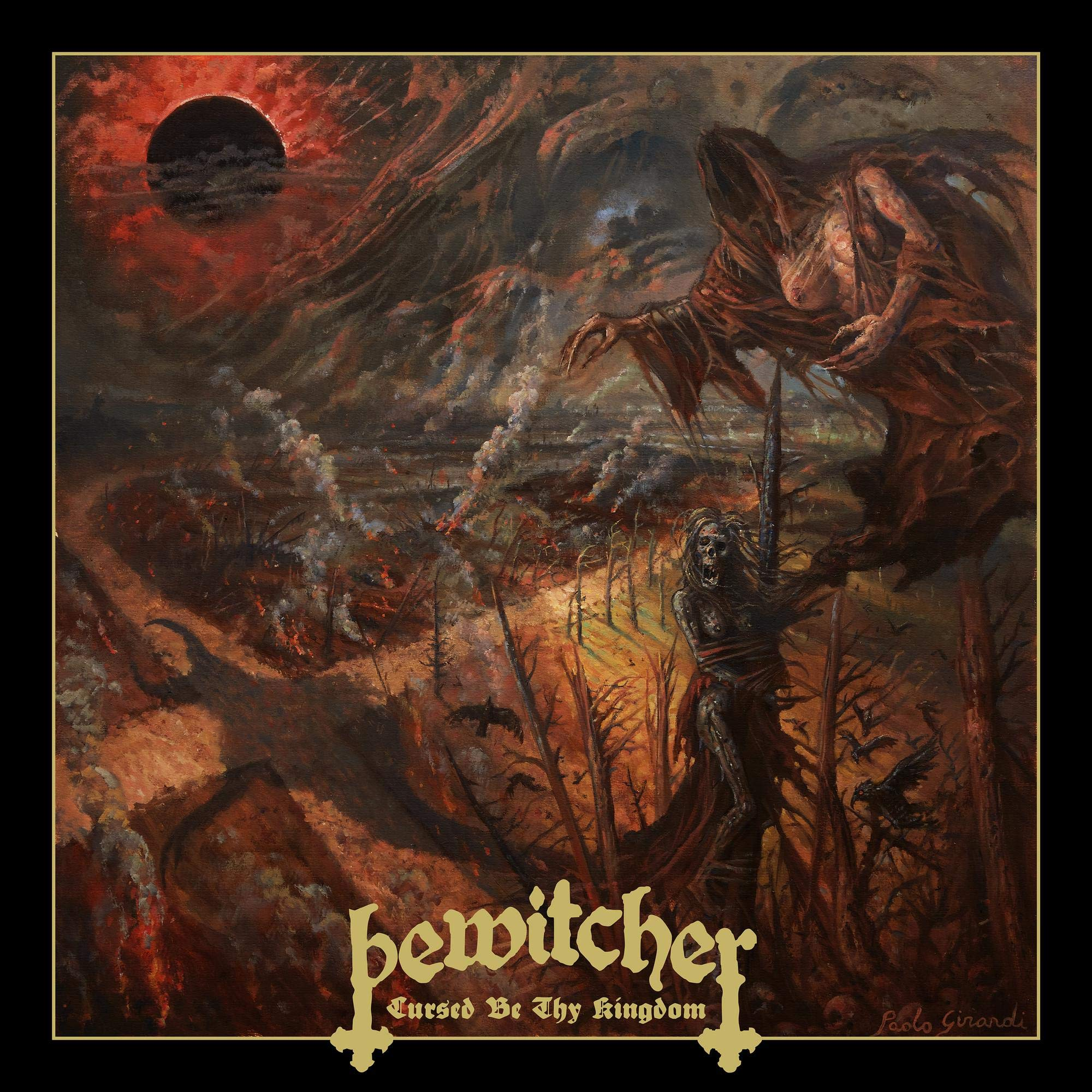 Bewitcher - Cursed By Thy Kingdom (2021) [FLAC] Download