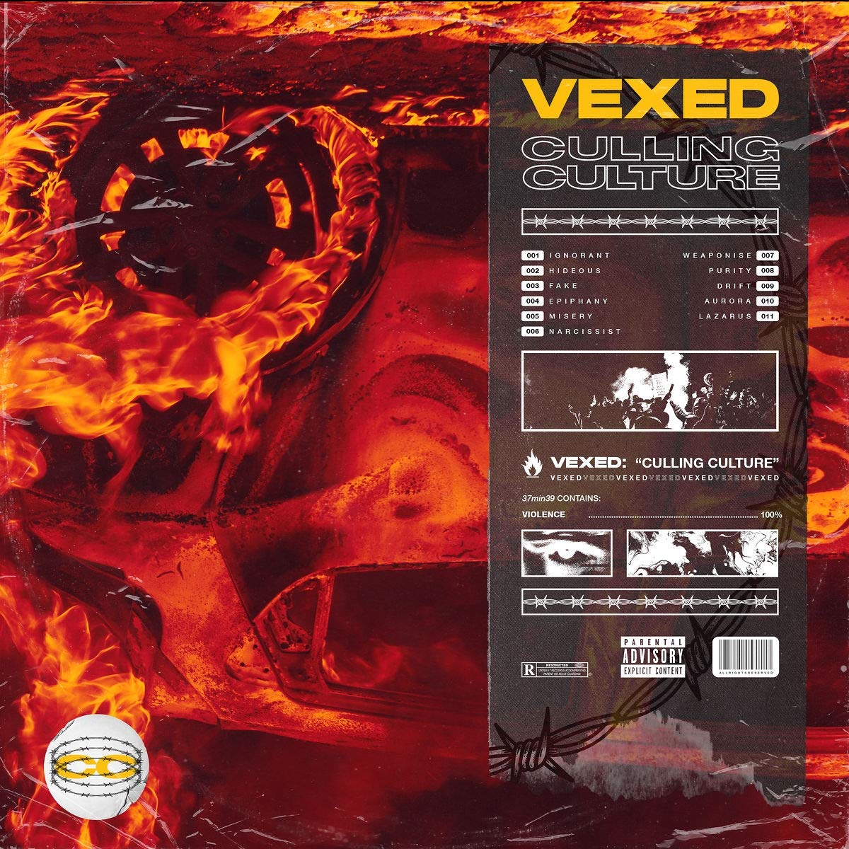 VEXED – Culling Culture (2021) [FLAC]