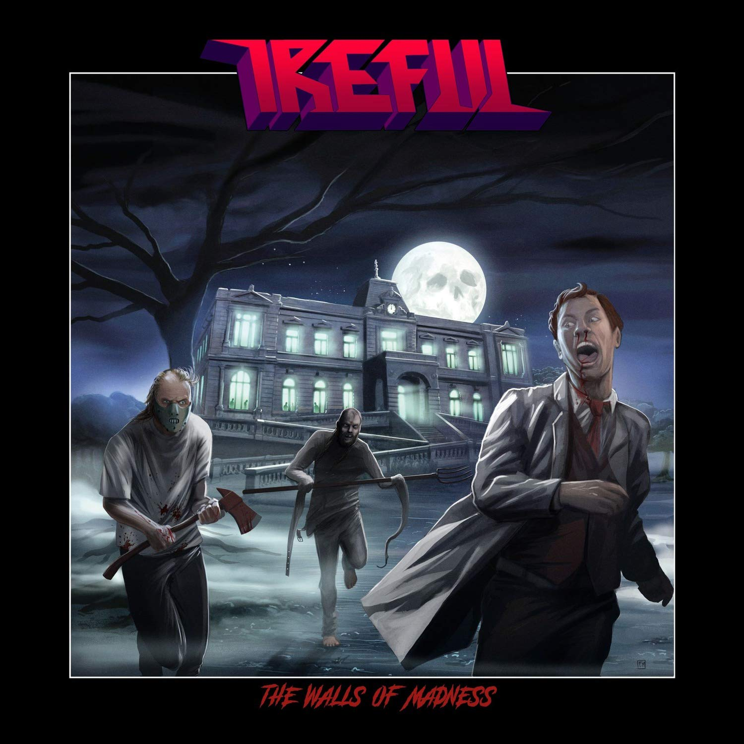Ireful – The Walls of Madness (2021) [FLAC]