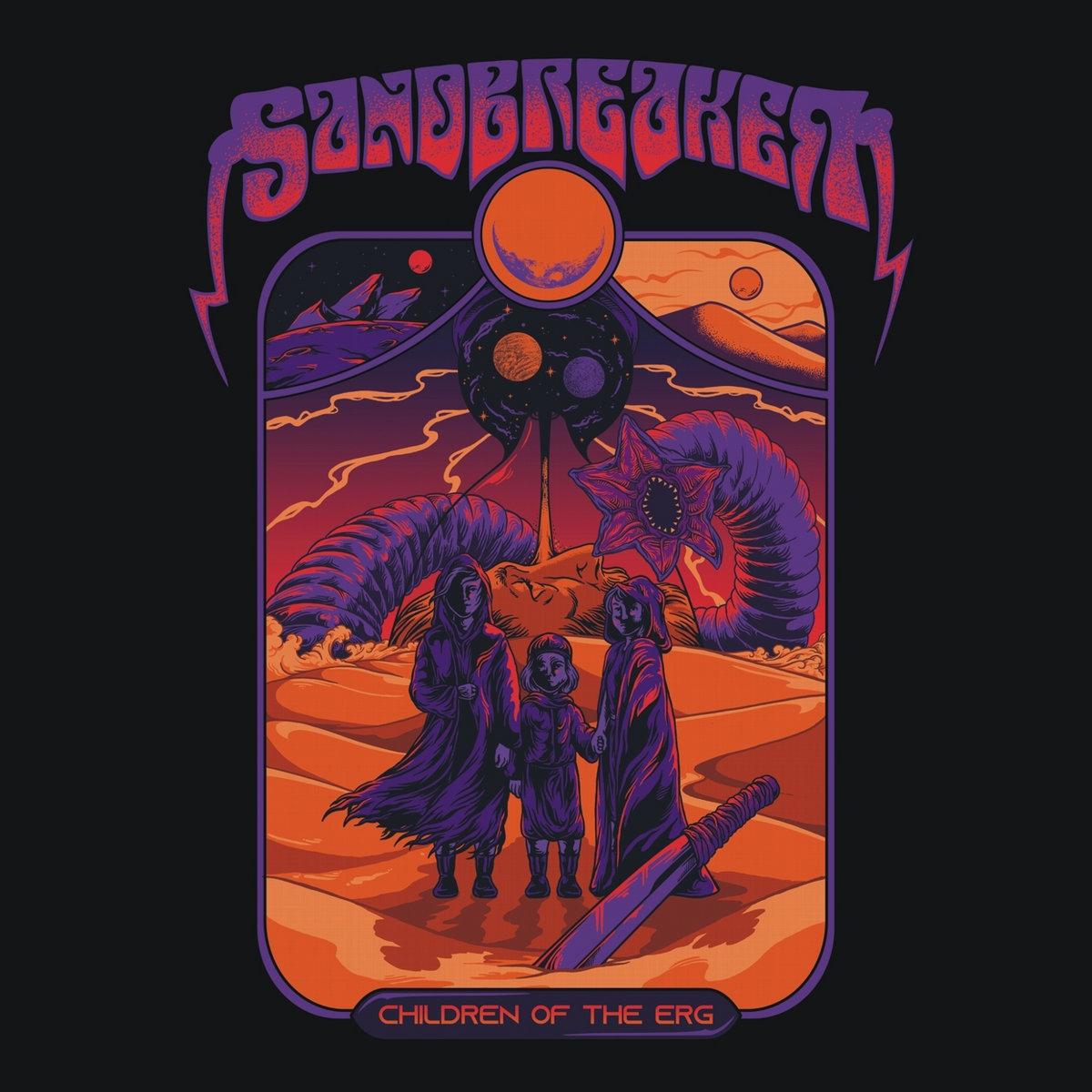 Sandbreaker - Children of the Erg (2021) [FLAC] Download