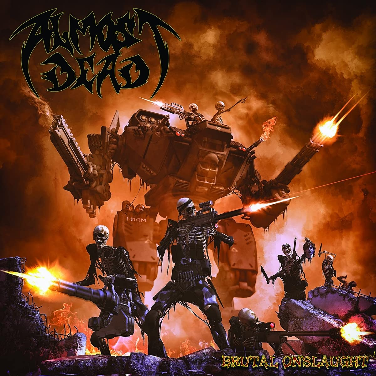 Almost Dead - Brutal Onslaught (2021) [FLAC] Download
