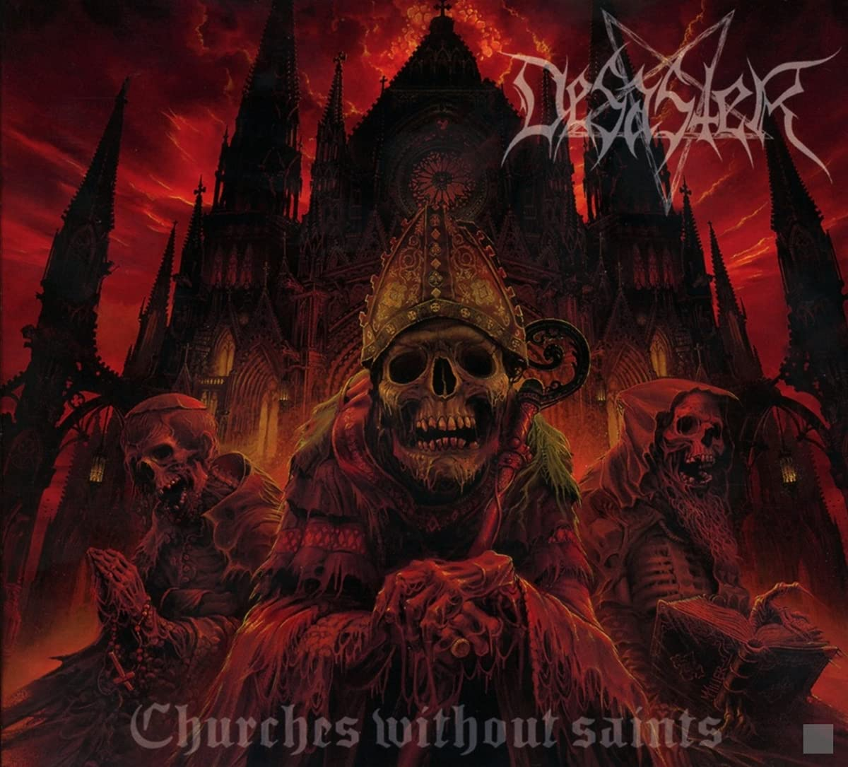 Desaster - Churches Without Saints (2021) [FLAC] Download