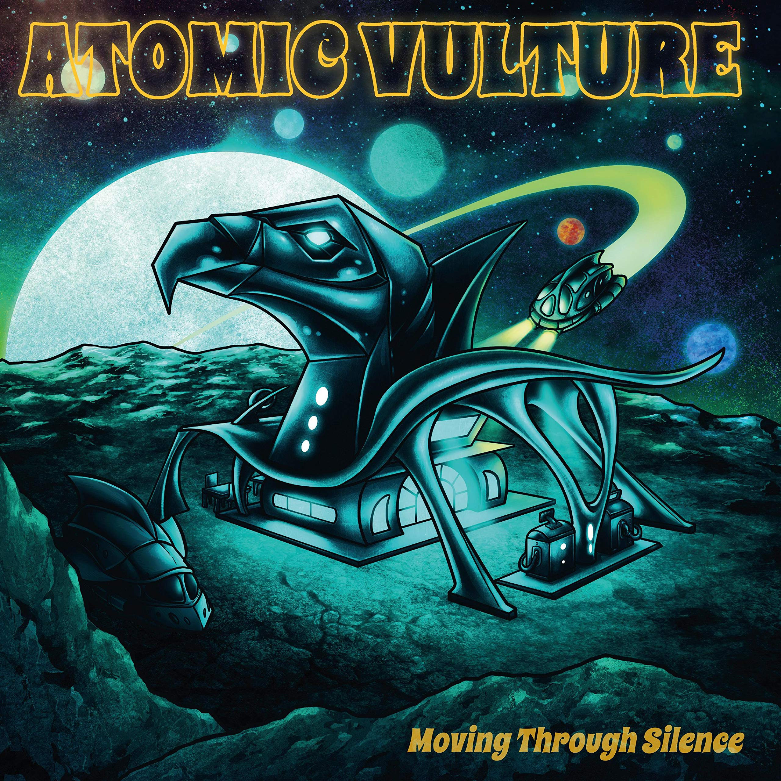 Atomic Vulture - Moving Through Silence (2021) [FLAC] Download