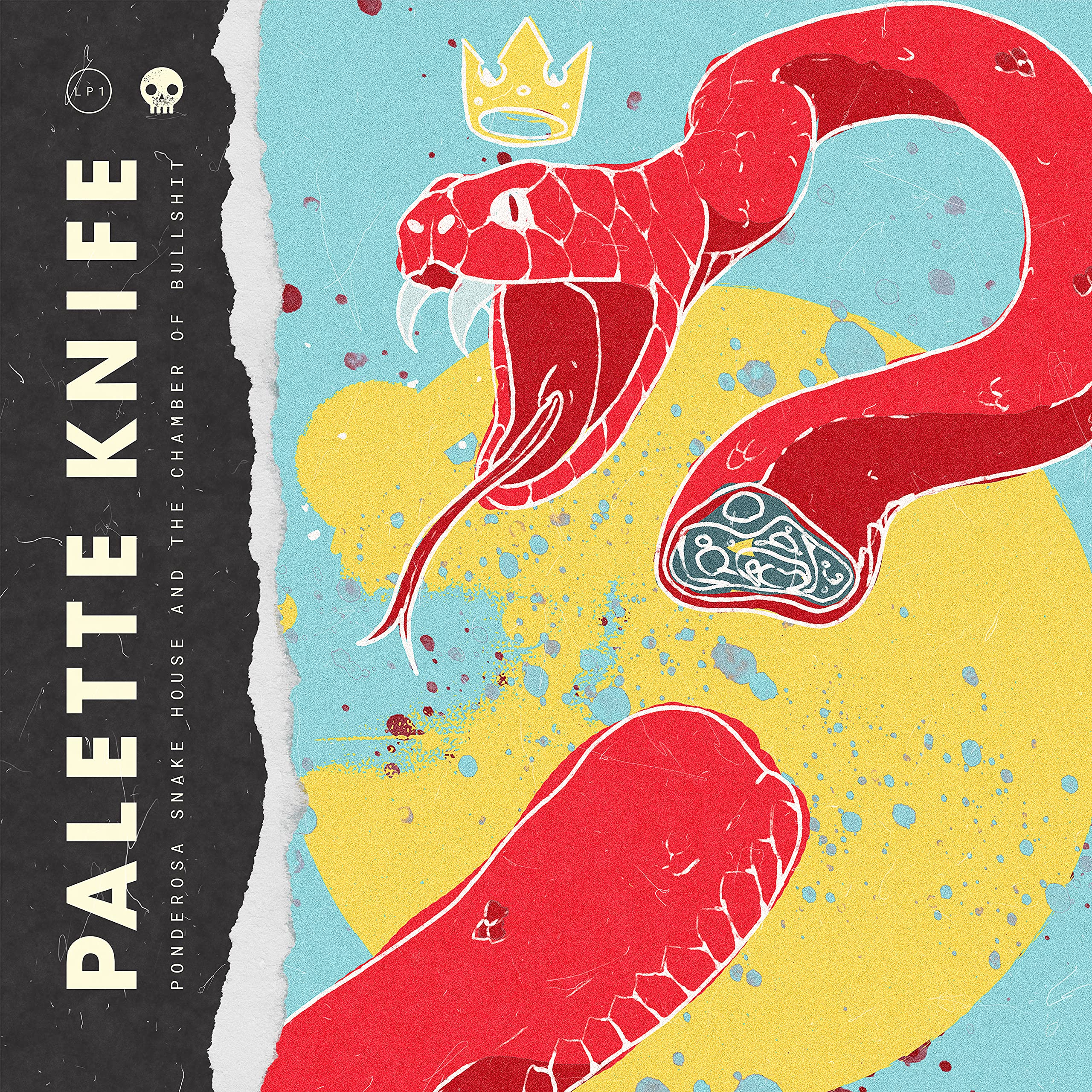 Palette Knife - Ponderosa Snake House and the Chamber Of Bullshit (2021) [FLAC] Download