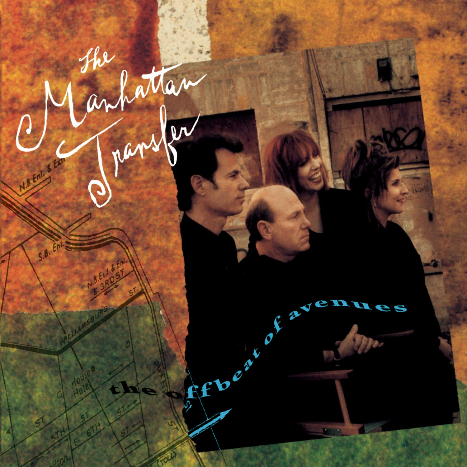 The Manhattan Transfer - The Offbeat Of Avenues (1991) [FLAC] Download