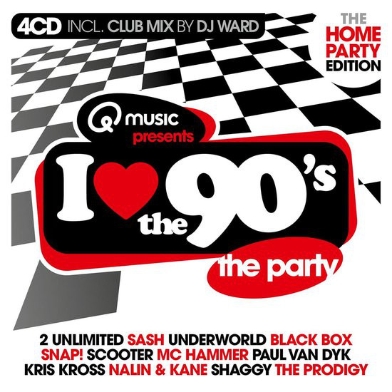 VA - I Love The 90's The Home Party Edition (2021) [FLAC] Download