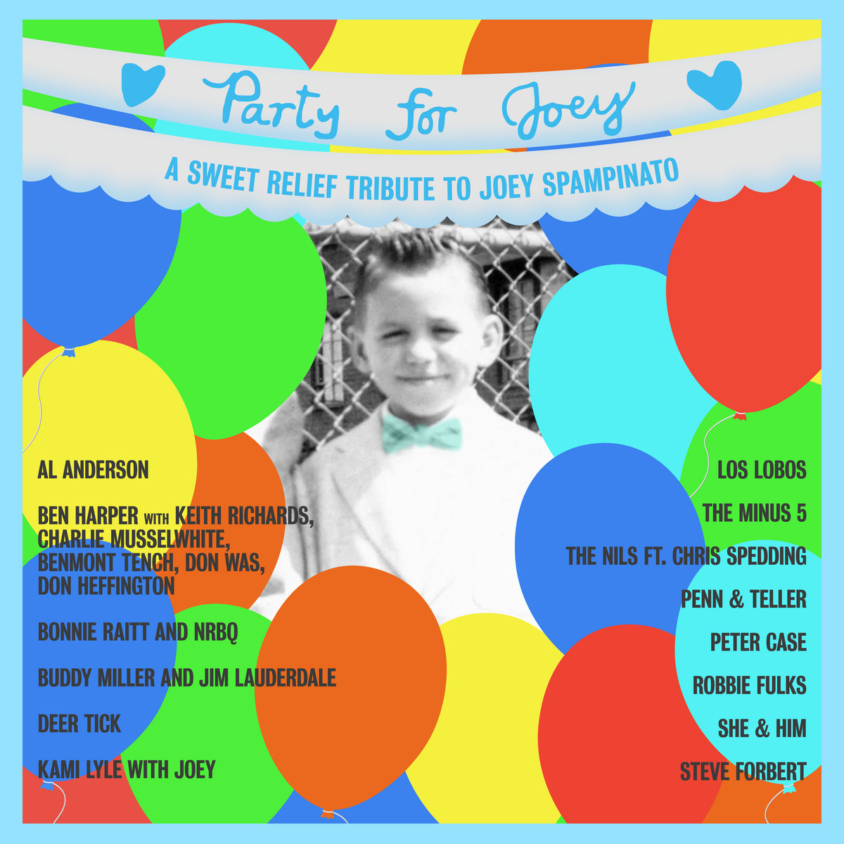 VA - Party For Joey A Sweet Relief Tribute To Joey Spampinato (2021) [FLAC] Download