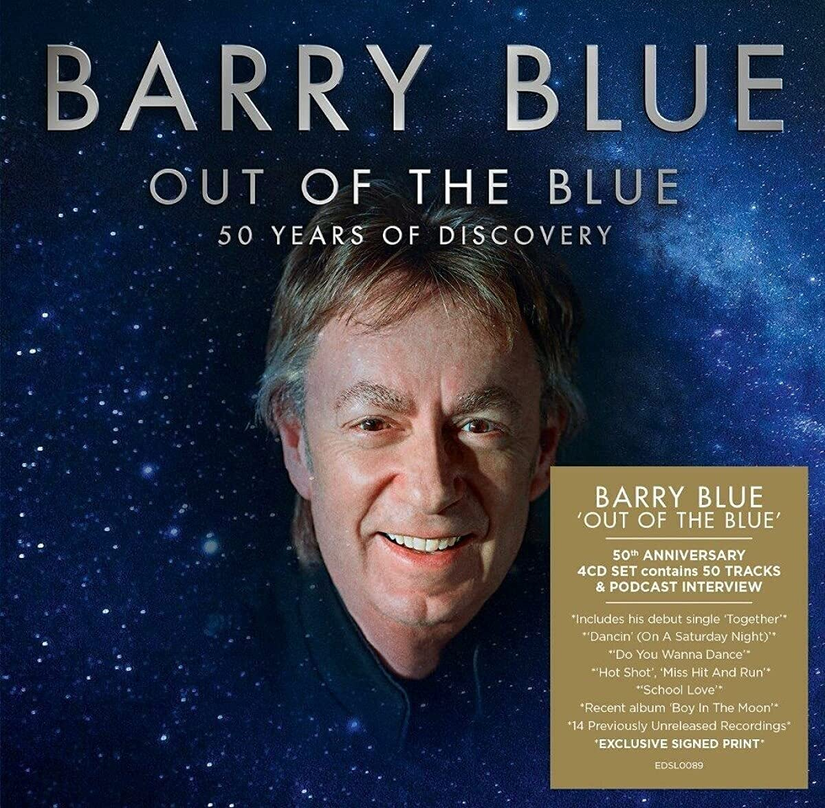 Barry Blue - Out Of The Blue  50 Years Of Discovery (2021) [FLAC] Download
