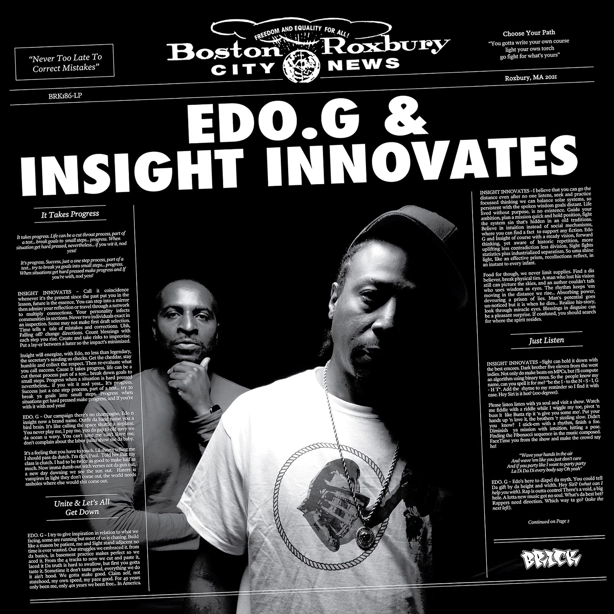Edo.G & Insight Innovates - Edo.G & Insight Innovates (2021) [FLAC] Download