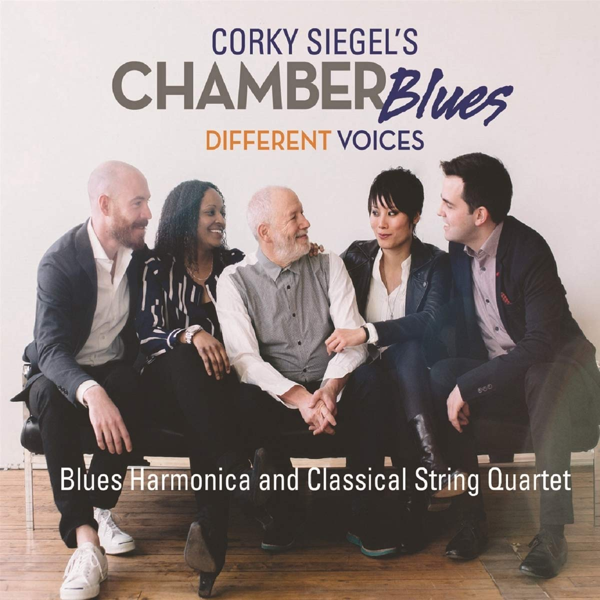 Corky Siegel's Chamber Blues – Different Voices (2017) [FLAC]