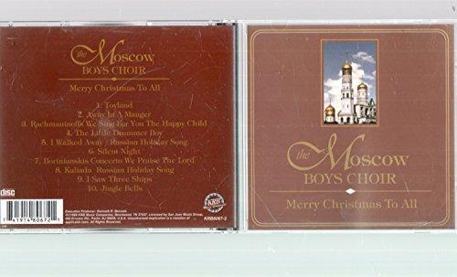 The Moscow Boys Choir – Merry Christmas To All (1999) [FLAC]