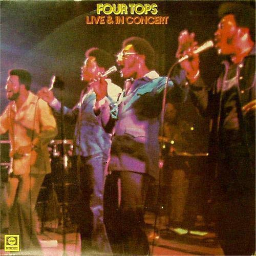 Four Tops – Live And In Concert (1995) [FLAC]