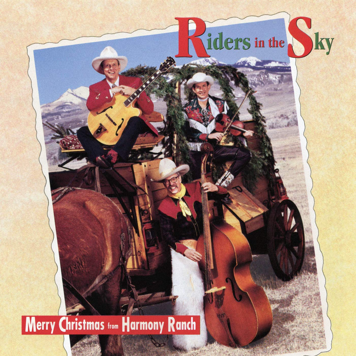 Riders In The Sky – Merry Christmas From Harmony Ranch (1992) [FLAC]