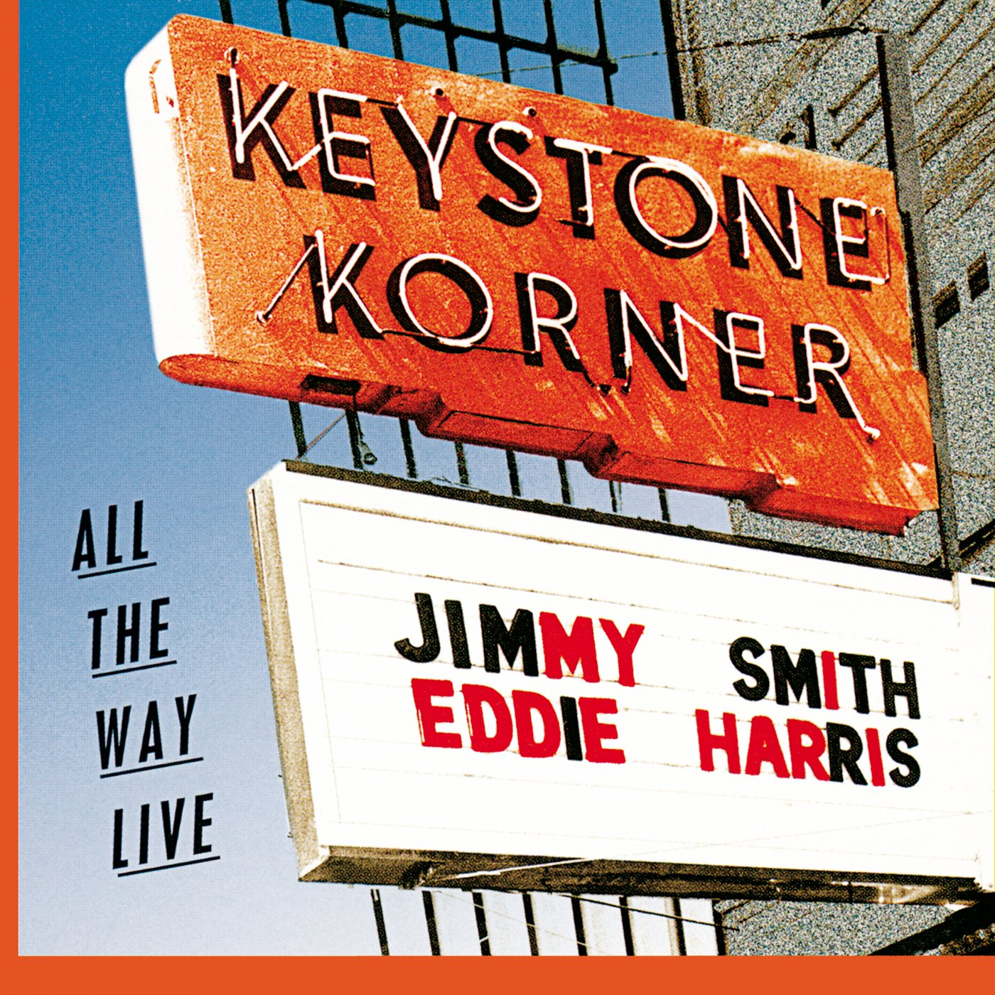 Jimmy Smith And Eddie Harris – All The Way Live (1996) [FLAC]