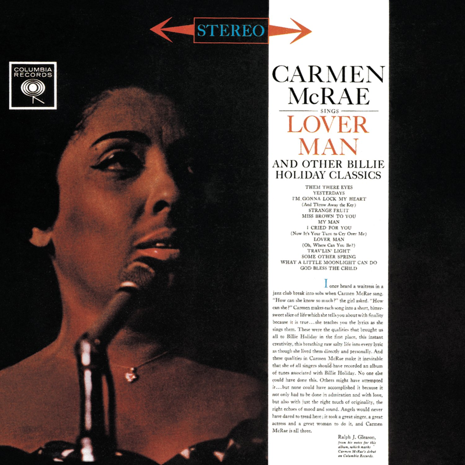 Carmen McRae – Sings Lover Man And Other Billie Holiday Classics (2012) [FLAC]