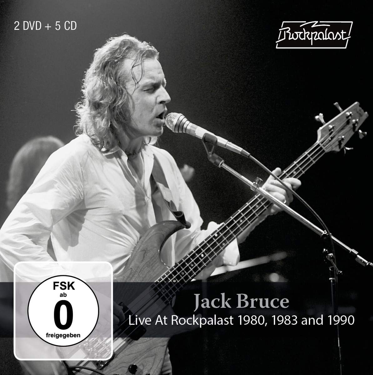Jack Bruce - Live At Rockpalast 1980, 1983 and 1990 (2019) [FLAC] Download